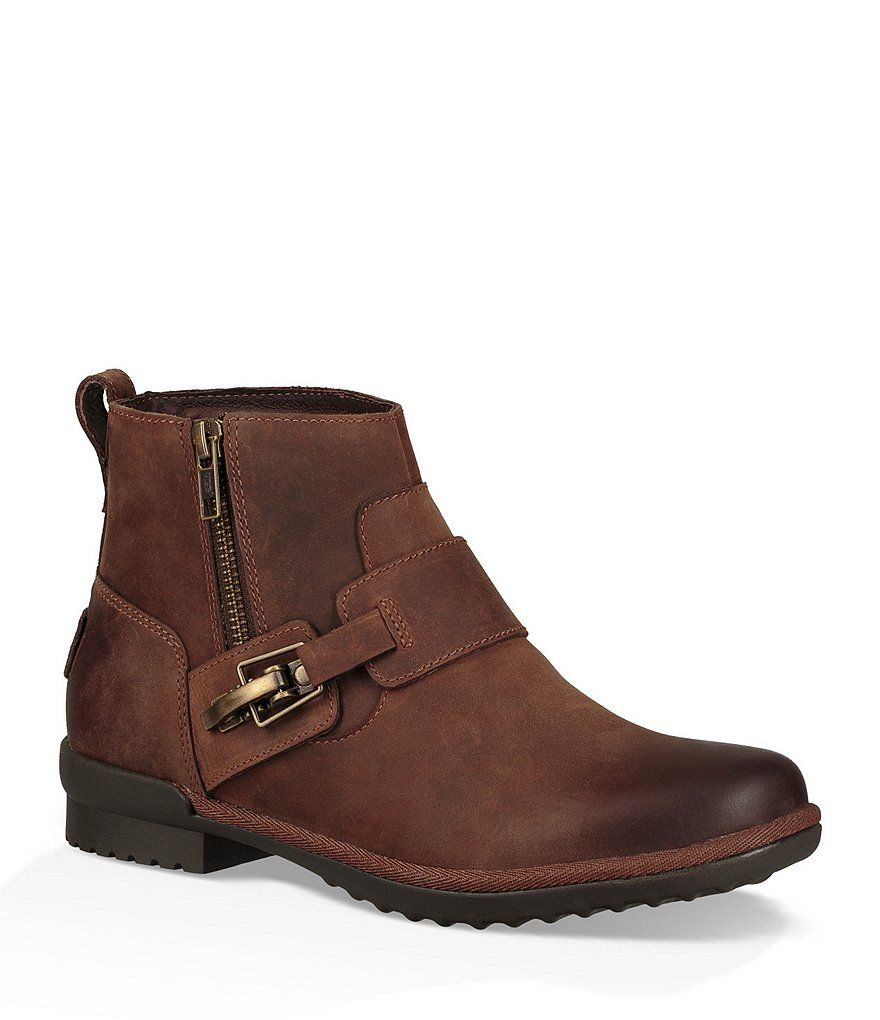 548e3a03bb8 UGG® Cheyne Waterproof Leather Buckle Detail Booties | My style ...