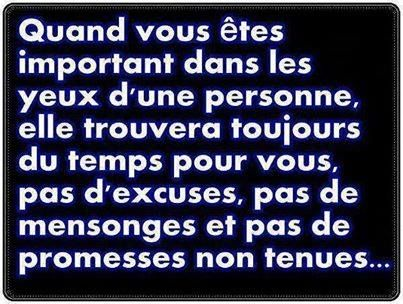 Pas D Excuses Pas De Mensonges Et Pas De Promesses