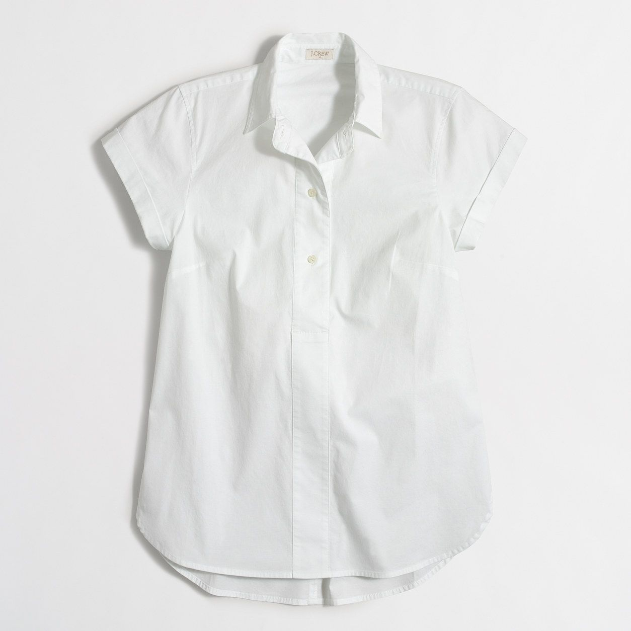 b0e18d30 J.Crew Factory: Short-sleeve popover shirt | Stuff I want to make ...