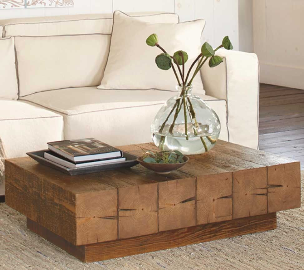 Chunky Timber Coffee Table Vivaterra Coffee Table Coffee Table Furniture Table Furniture [ 865 x 974 Pixel ]