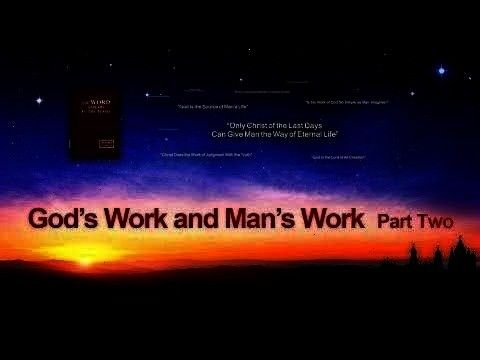 Almighty Gods Words Gods Work and Mans Work Part Two  choir Praise and Worship the Return of God  Gospel Choir 19th Performance The Words of the Holy Spirit  Almighty Go...