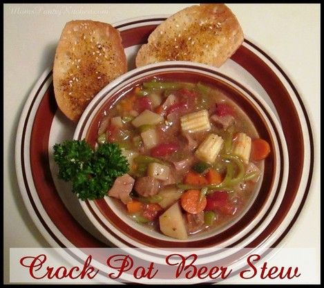Beer Stew http://www.momspantrykitchen.com/beer-stew.html