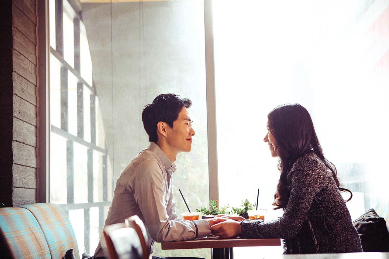 Korea Engagement Photography Date Snap in Seoul City