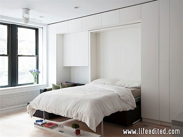 Transformierbare Mini-Wohnung in New York City | KlonBlog | Chambre ...