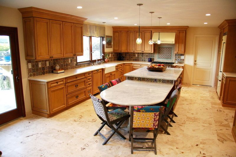 Beautiful Marble Countertops With Different Heights Www Fordhammarble Com 203 348 5 Kitchen Island Dimensions Kitchen Island With Seating Kitchen Design