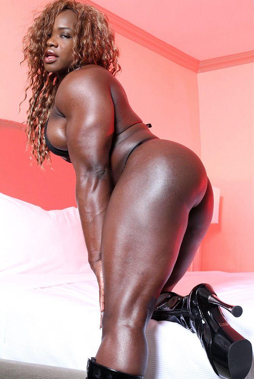 Nude Ebony Female Bodybuilders Sexy Black Female Bodybuilder With Huge Muscles Pornvideotv