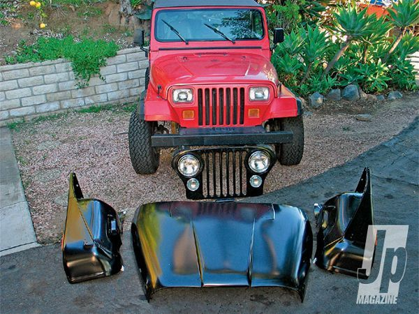New Jeep Cj Front End Parts Photo 15882002 Jeep Yj Jeep Wrangler Yj Jeep Cj7