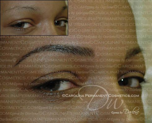 704-796-8221 Tattooed eyebrows look real when done the ...