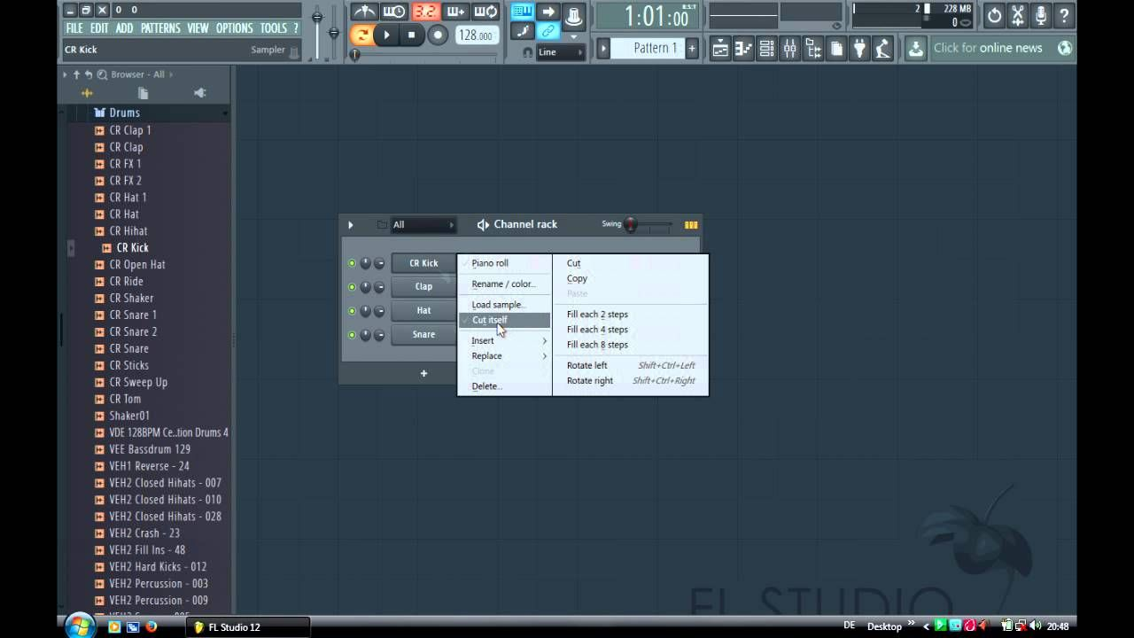FL Studio 12 Beginner Tutorial (Basics) | Music Production