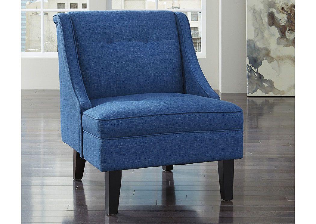 Best Woodstock Furniture Value Center Clarinda Blue Accent 400 x 300