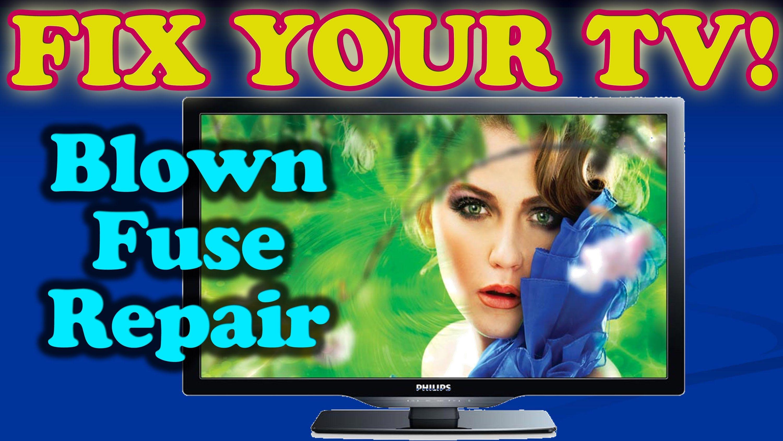 TV Repair Fix for Blown Fuse (Philips Magnavox Emerson