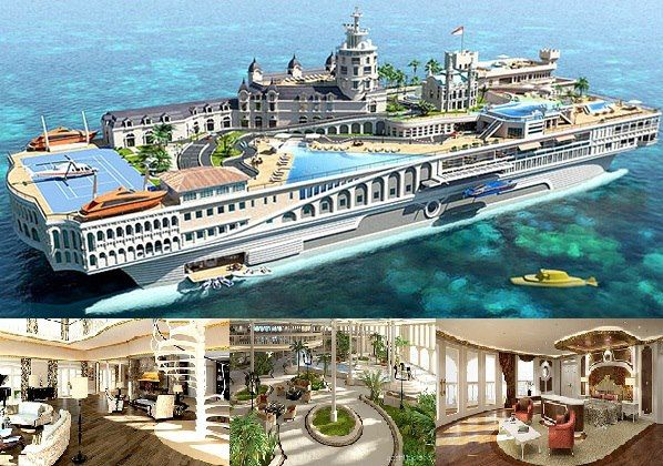 Yacht Island Design unique yacht pictures | yacht island design a budget of $1.1