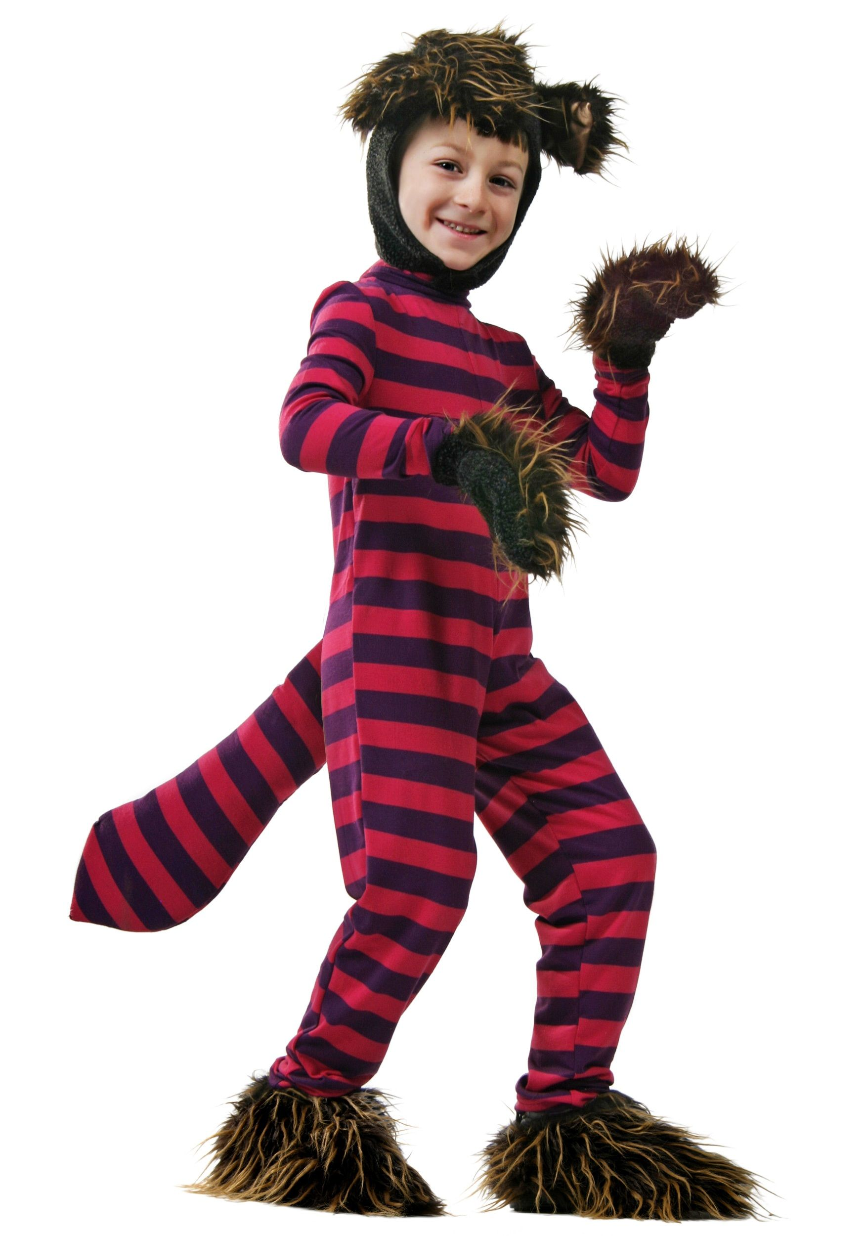Cheshire Cat Child Costume Child Alice In Wonderland Costumes Cat Costume Kids Cheshire Cat Costume Boy Costumes