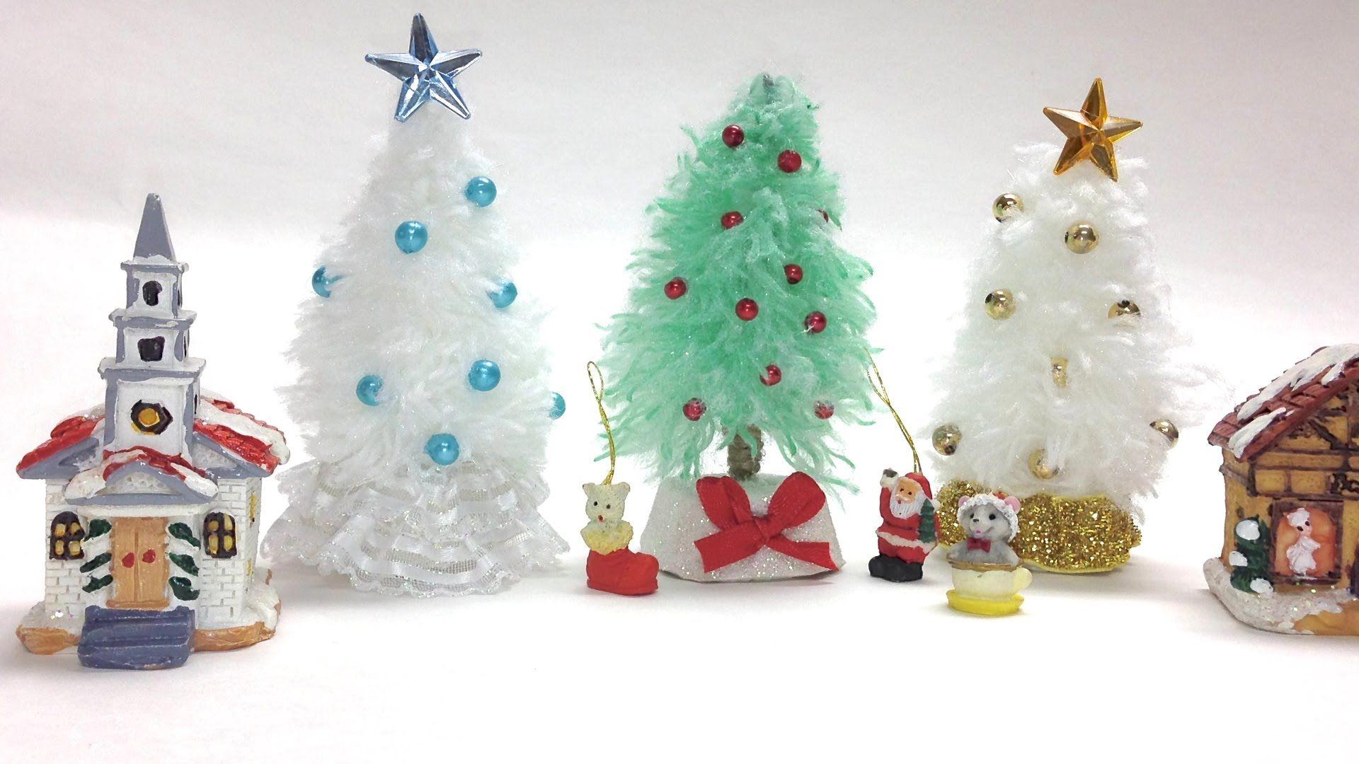 Como Hacer Arboles De Navidad Mini Mini Arbol De Navidad Arboles De Navidad De Papel Arbol De Navidad