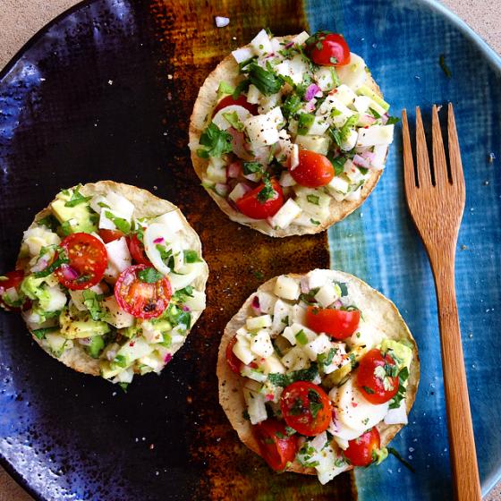 how to prepare jicama raw