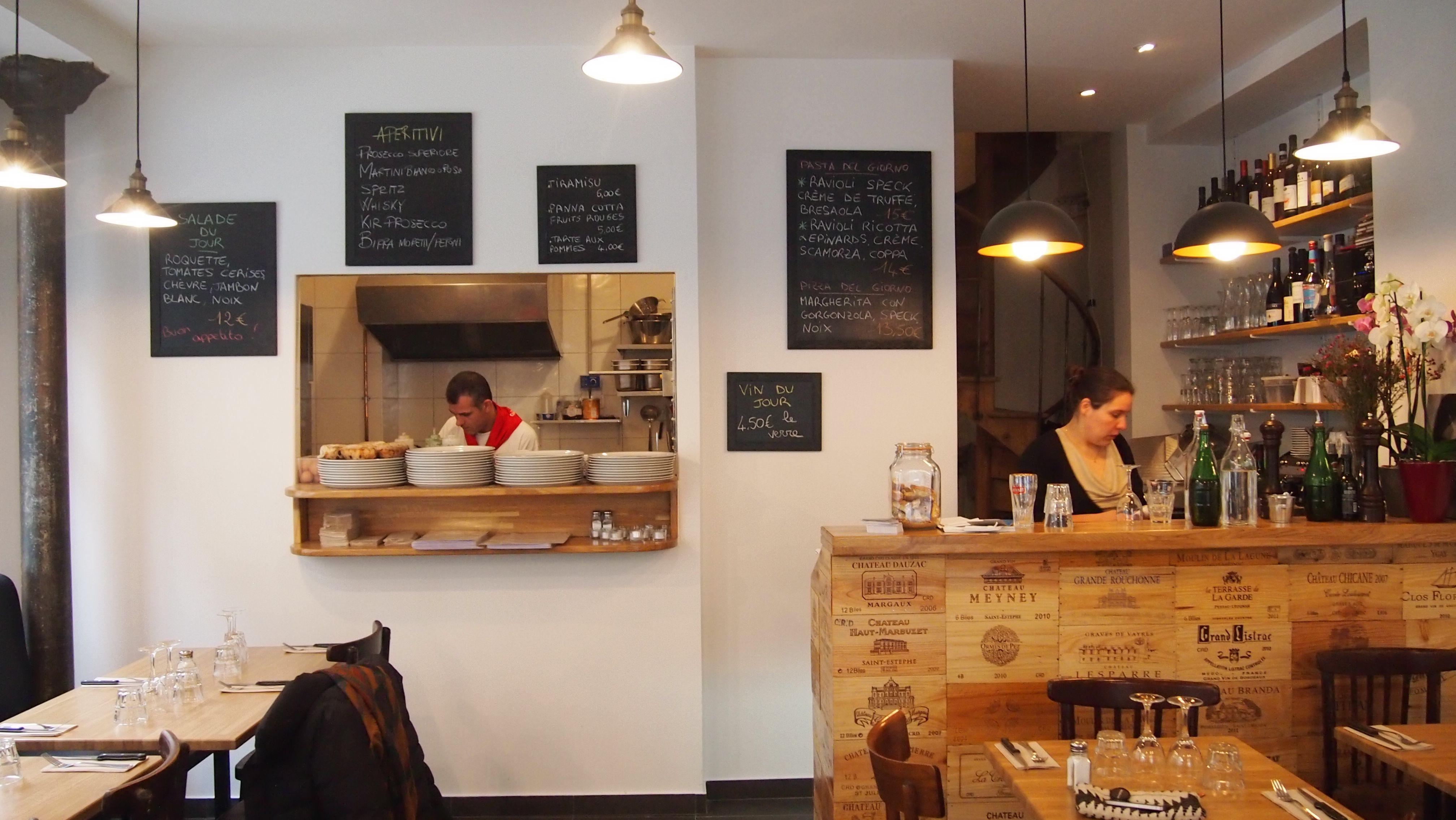 Architecte Interieur Paris 18 pizzeria in bocca al lupo 14 rue francoeur paris 18 #o2r