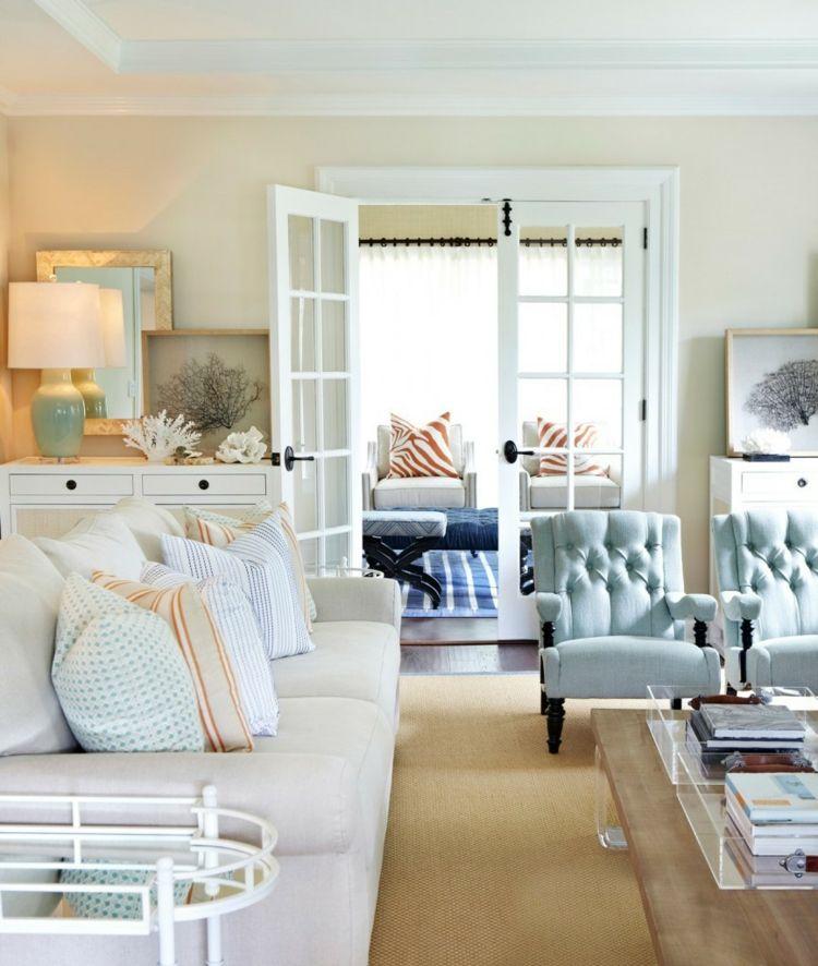 Decoración de salones modernos - muebles y accesorios -   Decoracion ...