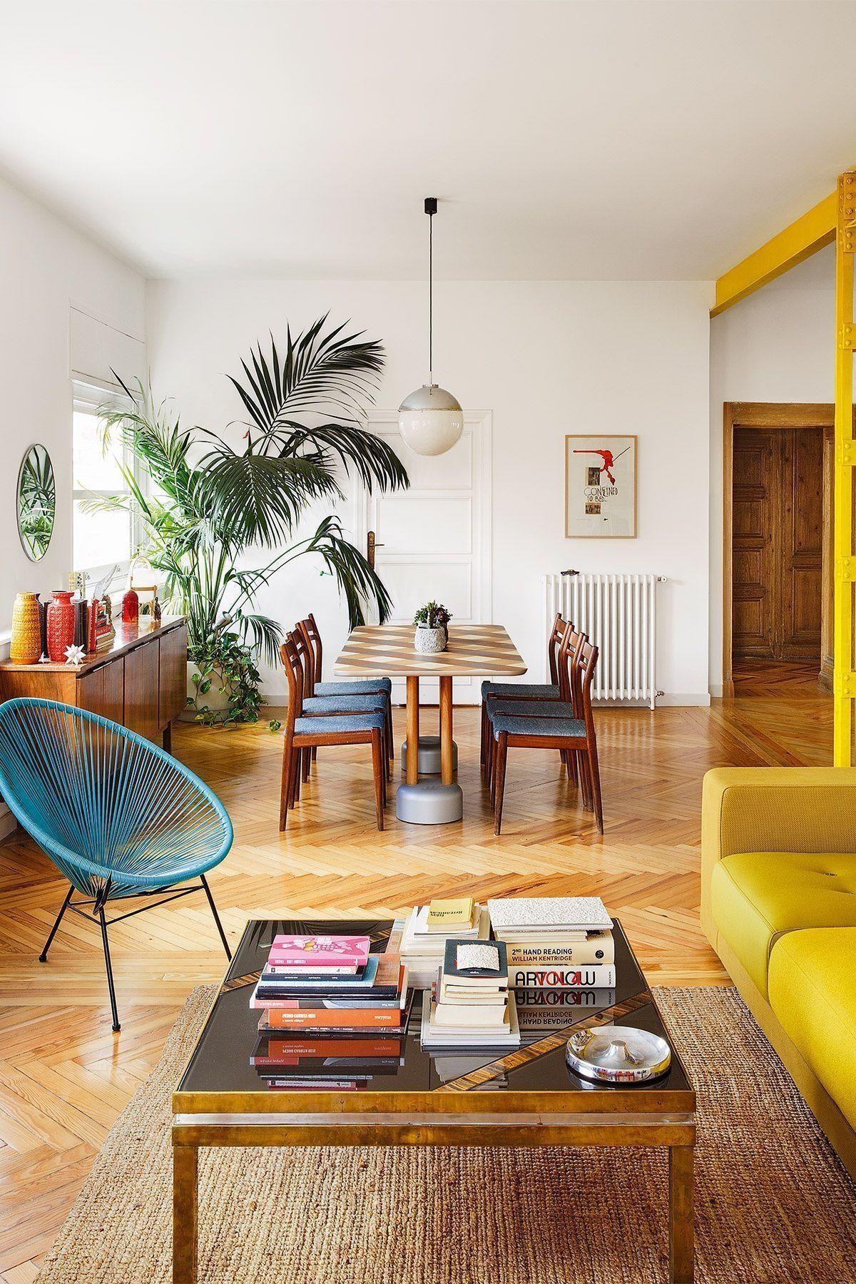 39 Mid-Century Modern Apartment Interior Design Ideas | Boho ...