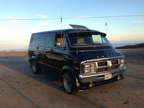 70s Conversion Van Interior