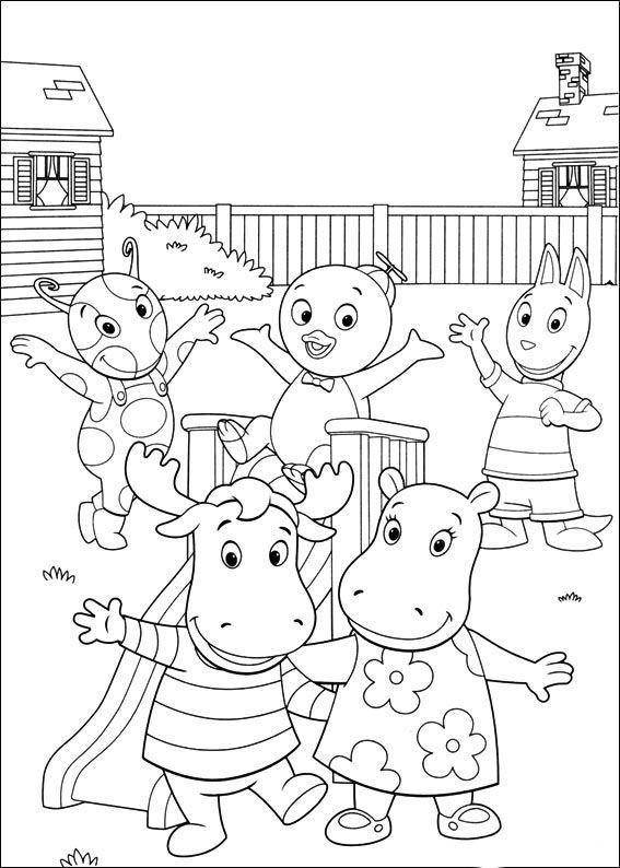 Backyardigans Fargelegging Tegninger 55 Malvorlagen Lustige Malvorlagen Wenn Du Mal Buch