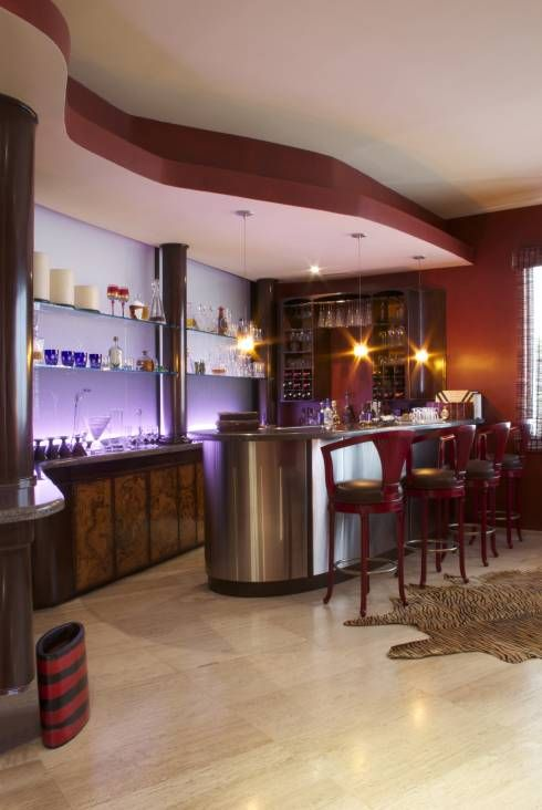 6 ideas para tener en casa un mini bar sensacional for Modelos de barras de bar para casas