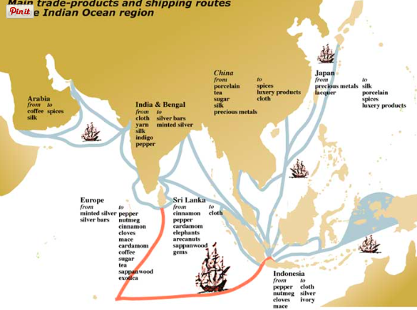 indian ocean trade 600 1750 Free essay: changes and continuities in commerce in the indian ocean region from 650 to 1750 ce in the period between 650 ce and 1750 ce, the indian.