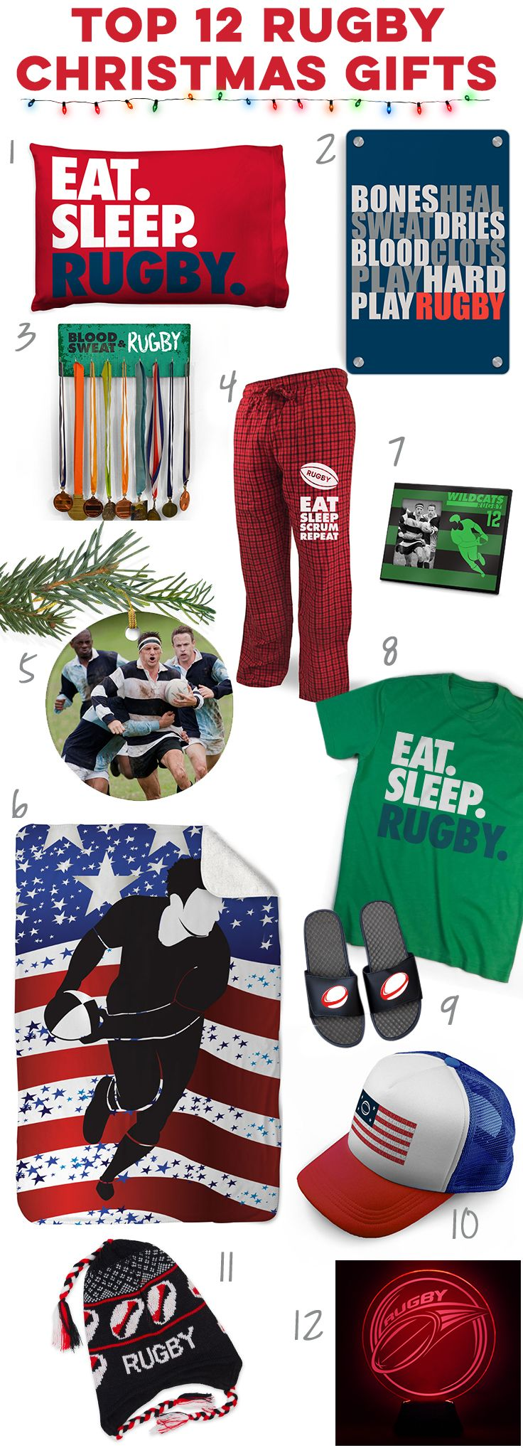 Check Out These Great Holiday Rugby Gift Ideas Click To See More Details On Our Top 12 Rugby Player Gift Id Rugby Gifts Unique Christmas Gifts Gifts