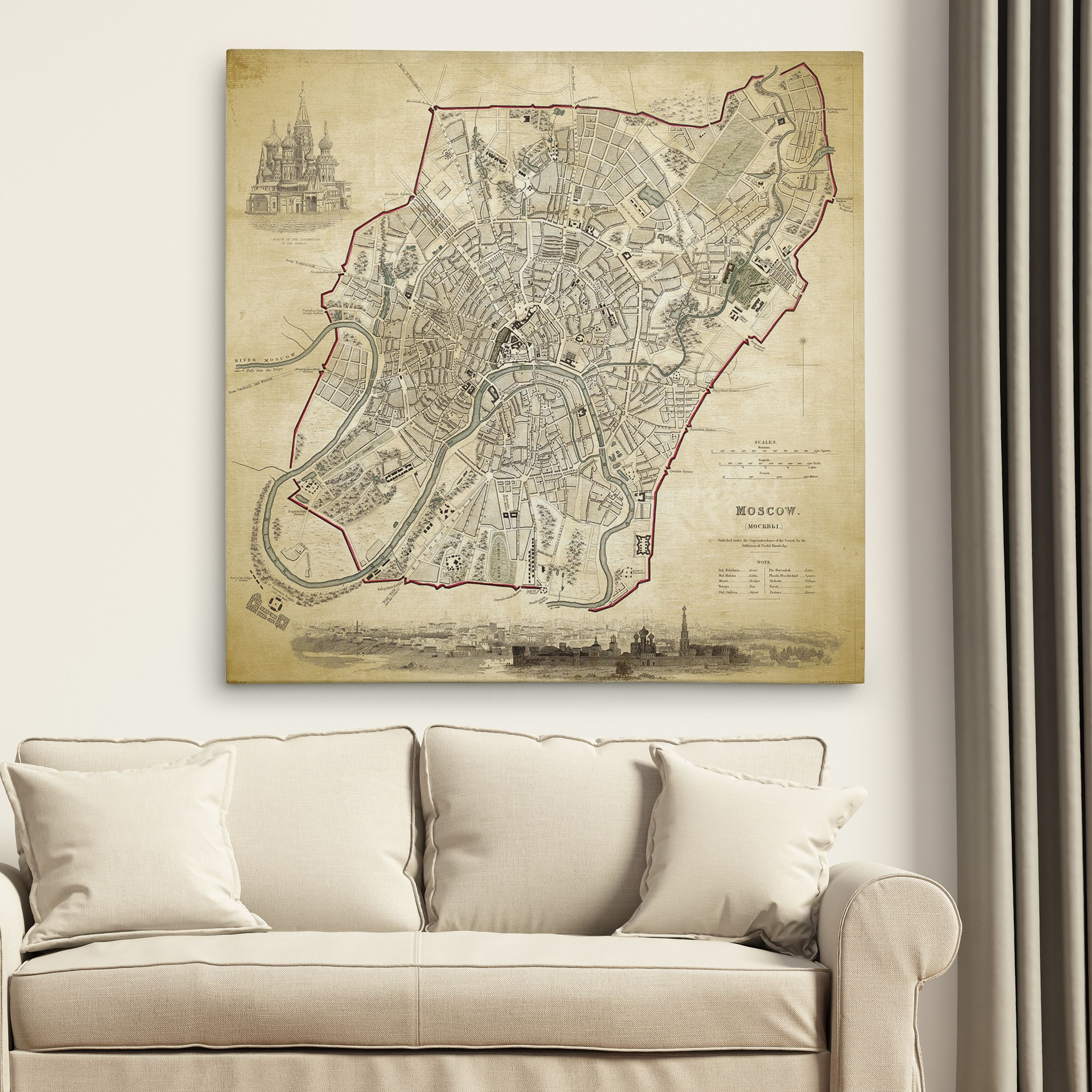 Wexford home vintage world map i premium gallery wrapped canvas wexford home vintage world map i premium gallery wrapped canvas gumiabroncs Image collections