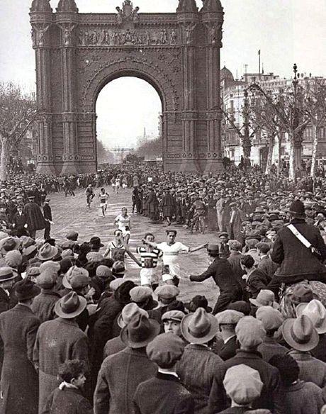 Barcelona 1928 Jean Bouin