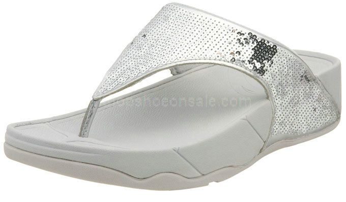 b546138eb Womens Sandals Fitflop Electra Pewter Silver Shoes
