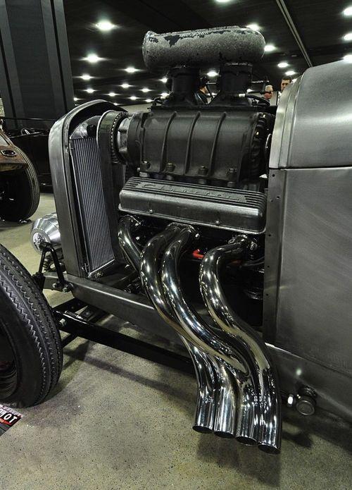 Bad Boy Blown Small Block JR Chevy Engine | drag racing