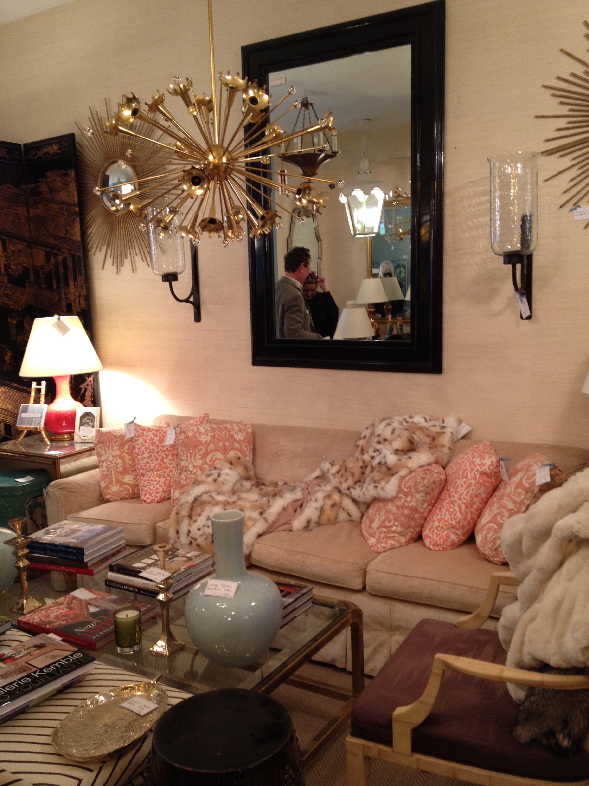 eclectic lighting. Eclectic Living Room - Decor -lighting, Sofa, Pillows, Fur Throw Lighting