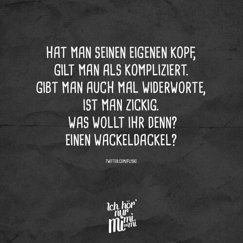 Zicke Kompliziert Wackeldackel Witzige Spruche Lustige Spruche