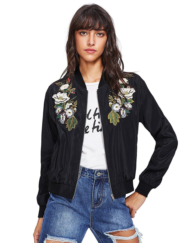 YUNY Womens Zipper Floral Printed See-Through Sunscreen Rain Jacket 5 S