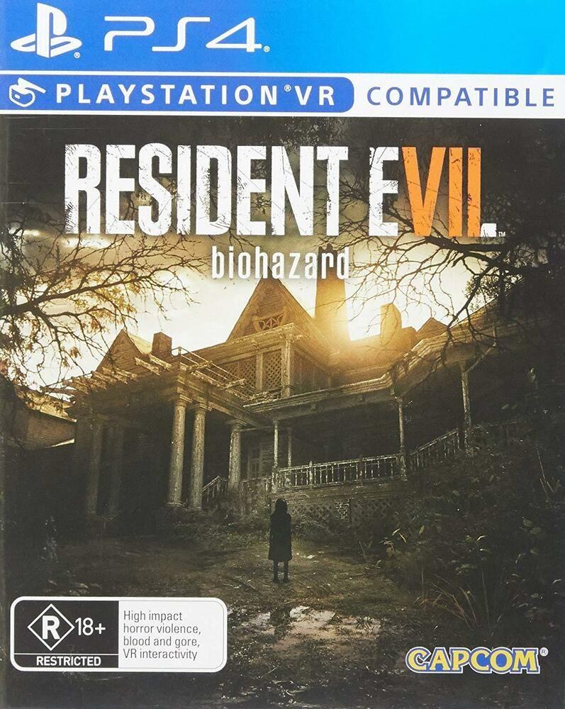 Resident Evil VII 7 Biohazard Survival Horror Game Sony