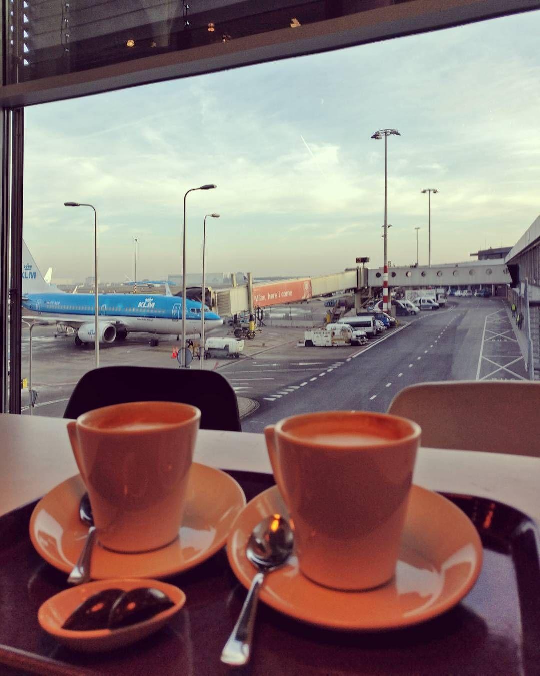 Картинка кофе в аэропорту