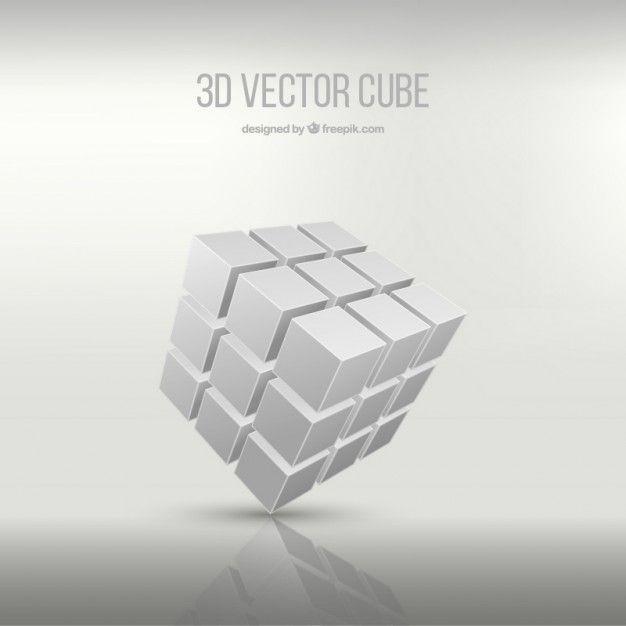 3d Cube Vector Free Cube 3d Cube