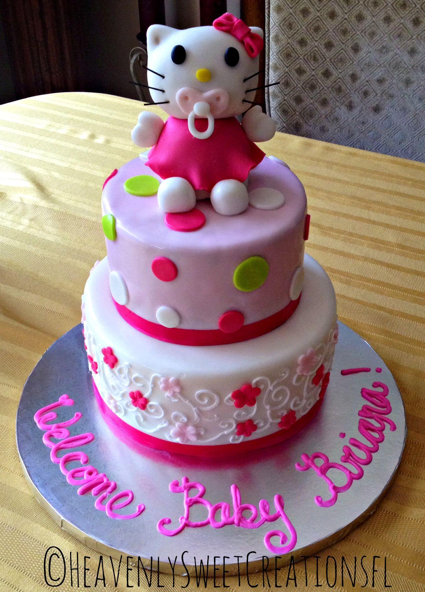 Cake · Hello Kitty Baby Shower ...