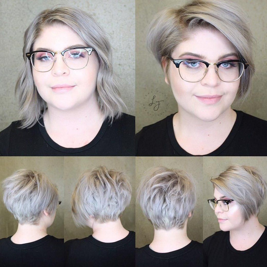 Top 60 Flattering Hairstyles For Round Faces We All Come To This World Looking In 2020 Short Hair Styles For Round Faces Short Hair Styles Hairstyles For Round Faces