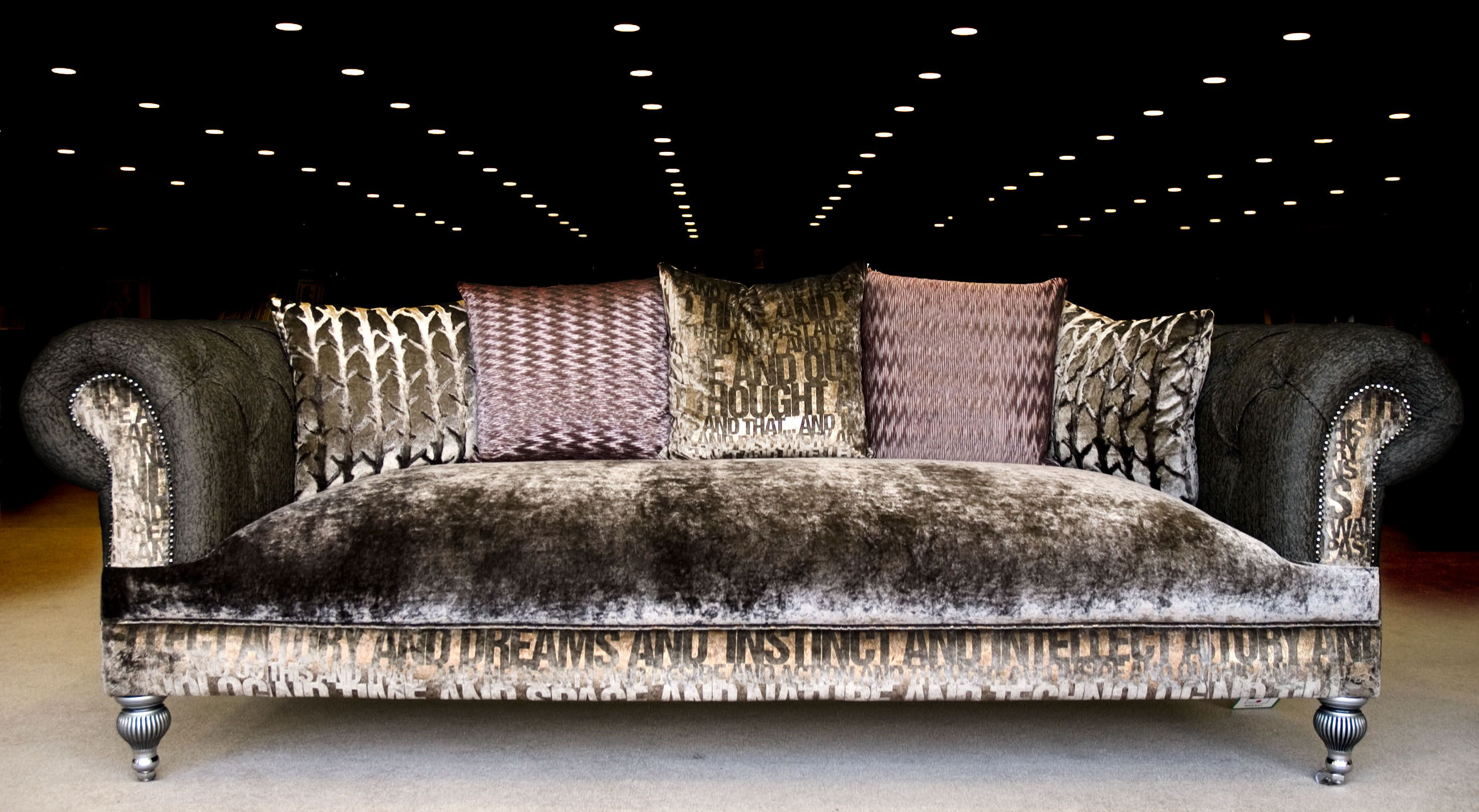 Sofa Furniture Upholstery Livingroom Killymoon The Imperial Sofa Is A Deep Buttoned Sofa Hand Made Deep Buttoned Sofa Crushed Velvet Sofa Trending Decor