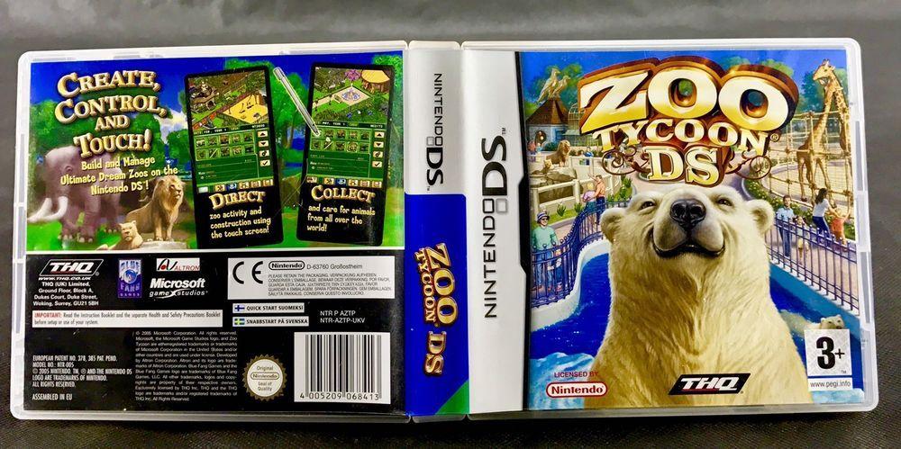 nintendo ds games zoo tycoon ds thq microsoft simulation animals rh pinterest co uk Nintendo 1Ds Nintendo Wii