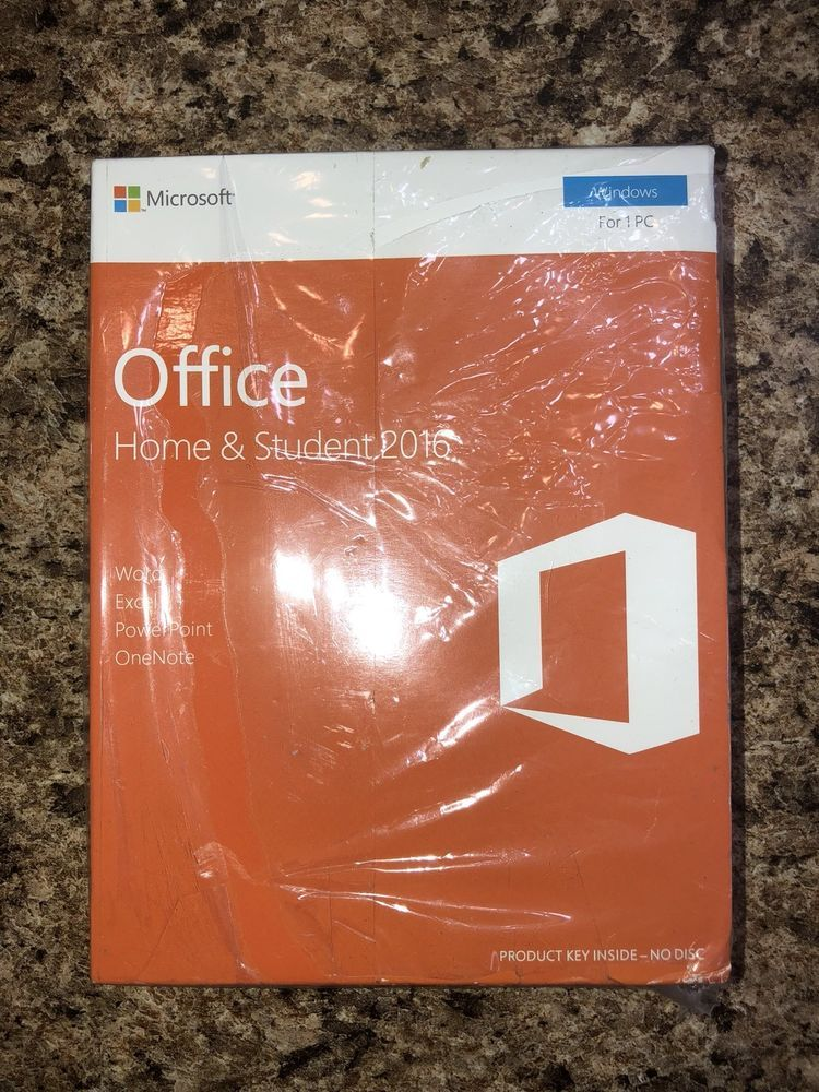 Microsoft office 2016 home and student windows english 1
