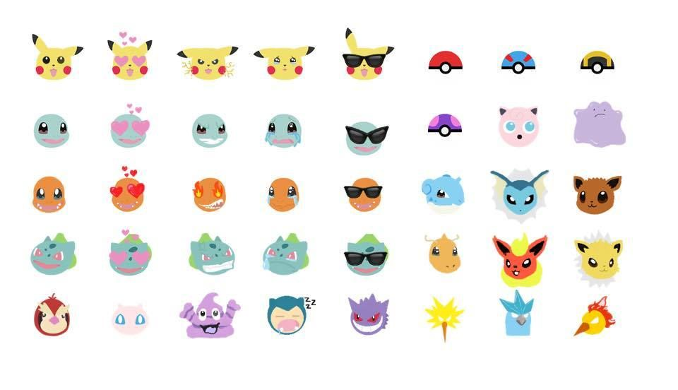 Finally A Pokemonemoji Keyboard App For Mobile Pokemon Emoji New Pokemon