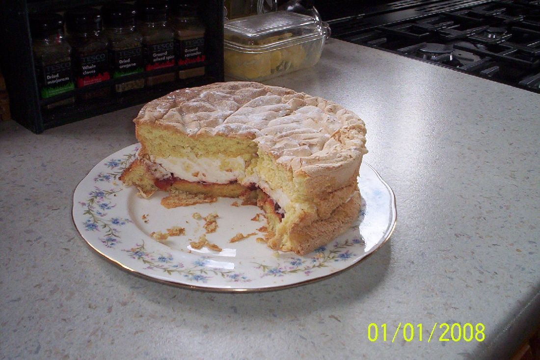Fatless Sponge Cake Recipe Bbc
