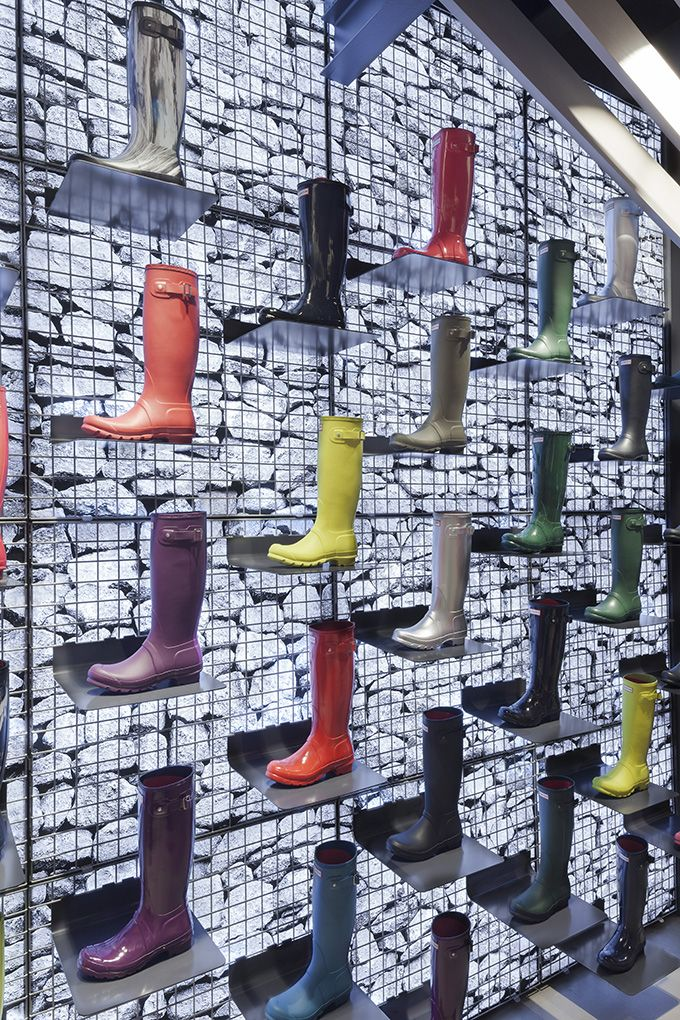 The Cool Hunter , Hunter Boots Flagship Store , London