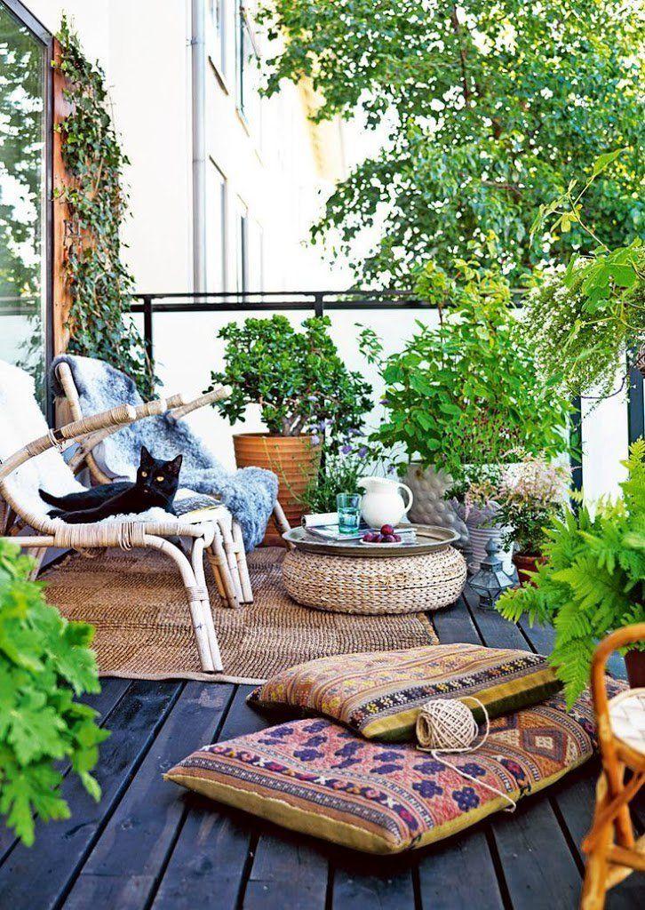 Ideas para la decoraci n de balcones balconies cosy - Decoracion de balcones ...