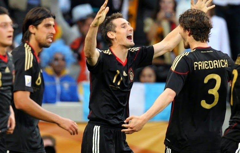 Blog Esportivo do Suíço: Após bater recorde de Ronaldo, Klose se aposenta da seleção alemã