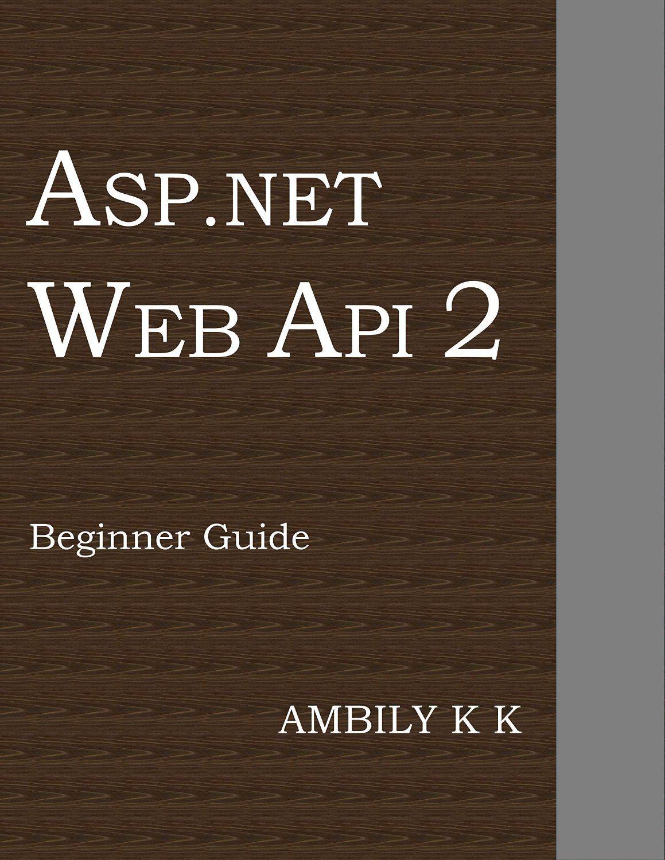 Web Api 2 Beginner Guide Web api, Beginners