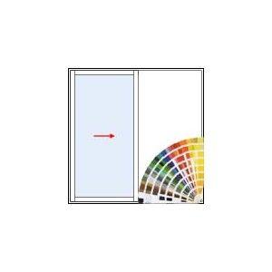 baie vitr e coulissante galandage en aluminium 1. Black Bedroom Furniture Sets. Home Design Ideas