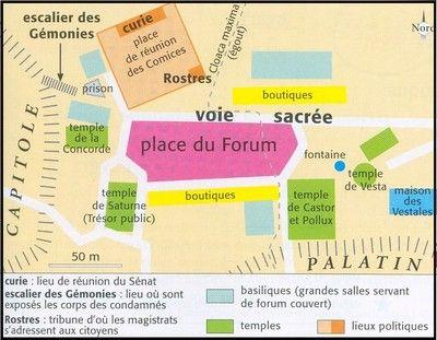 Plan Dtaill De LOrganisation De La Ville Romain La Ville Romaine
